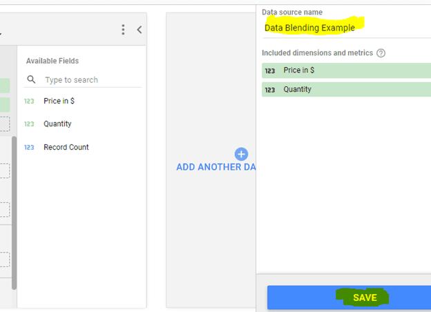 data blending example saved